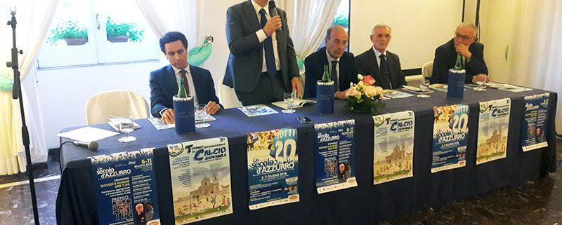 La conferenza stampa di presentazione